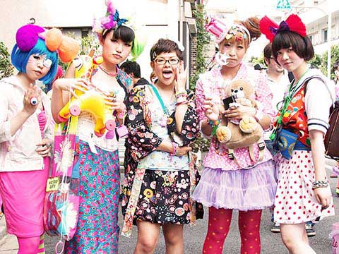 Другая Япония: молодежные субкультуры