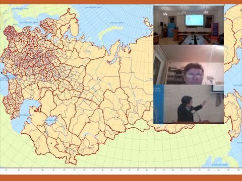 Заседание научно-практического семинара Центра исторической картографии и историко-пространственных исследований
