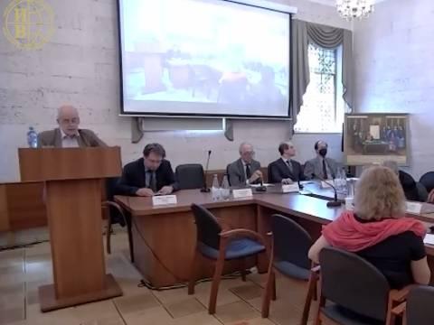 Открытие конференции «К 125-й годовщине русско-китайского Московского договора 1896 г.»